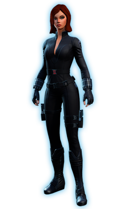 How to make a marvel black widow costume - photo#23