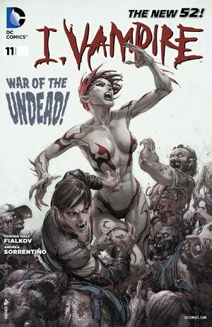Cover for I, Vampire #11 (2012)