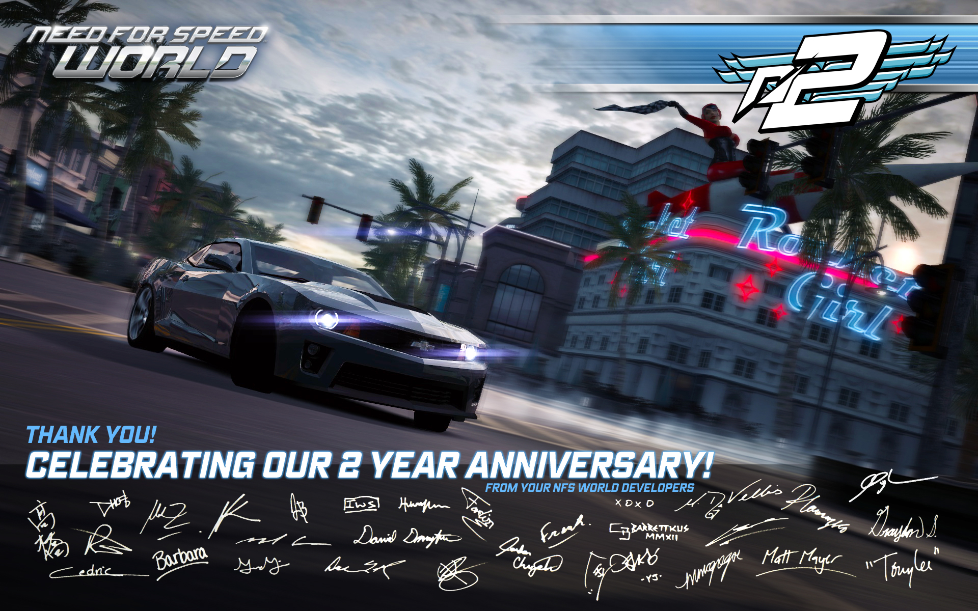 Need For Speed World Second Anniversary Nfs World Wiki
