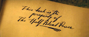 Property of the Half-Blood Prince