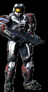 Halo Reach Spartan Mark IV White