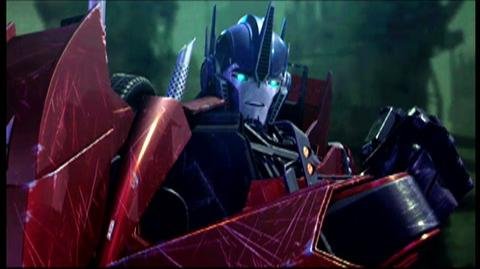 Transformers Prime One Shall Stand (2012) - Clip With All My Spark