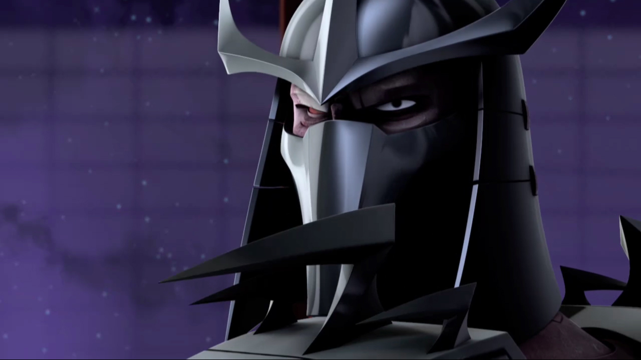Teenage Mutant Ninja Turtles 2012 Shredder Fight