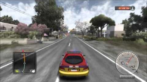 TDU2- police chases