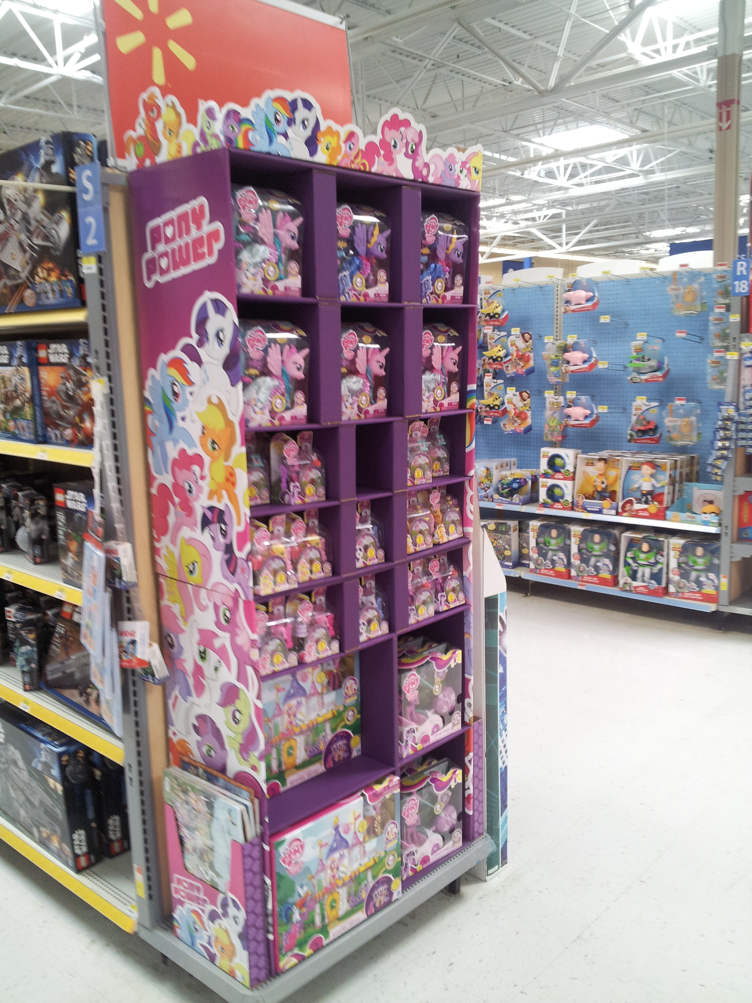 Image Other Side Of Butler Pa Wal Mart Toy Display