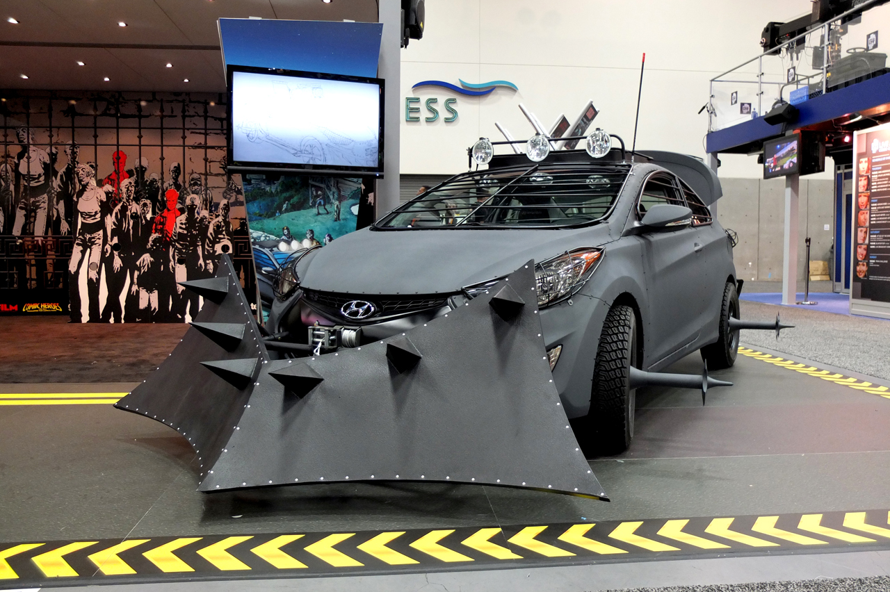 2013 Hyundai Elantra Coupe Zombie Survival Edition