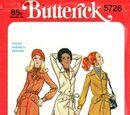 Butterick 5726 A