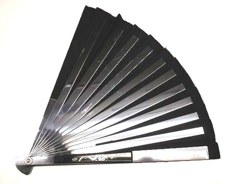 Steel fan weapon tessen japanese steel war fan