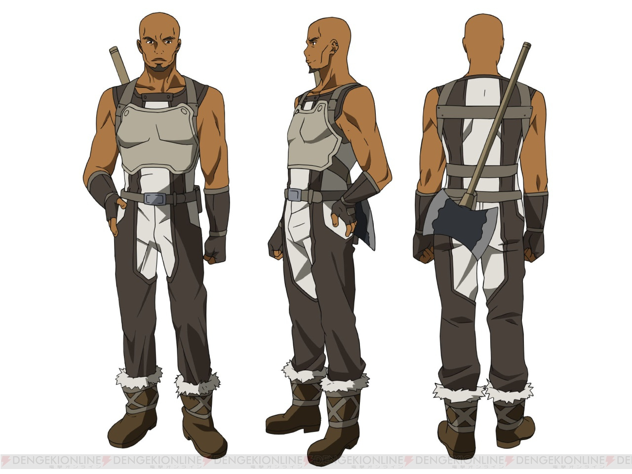 Agil, from Sword Art Online: Aincrad Arc, a roleplay on RPG