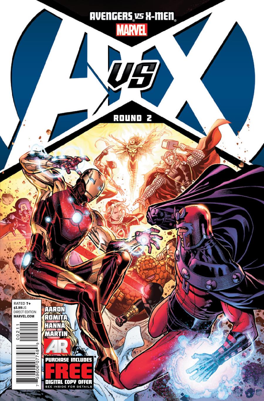 Avengers vs. X-Men (Event) - Marvel Comics Database