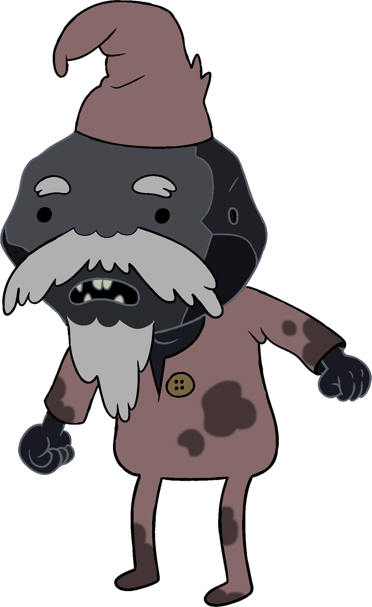 Adventure Time Jay And Bonnie Coal Man