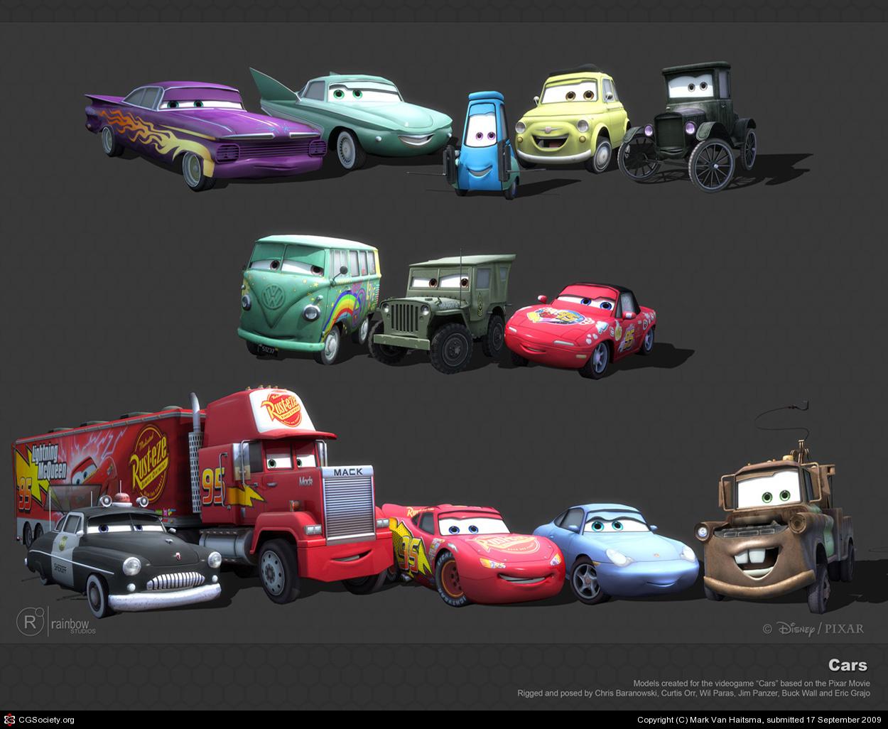 Sonny Cars Video Game