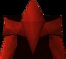 Perneiras placa de dragão
