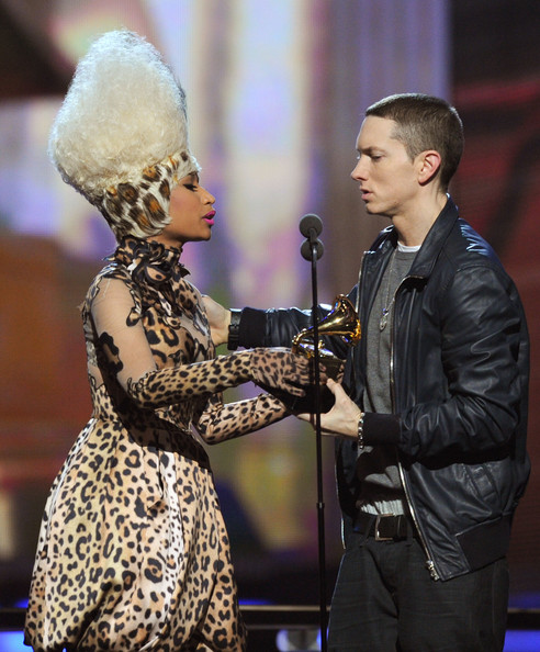 Eminem Blonde Hair 2012 Eminem-nicki1