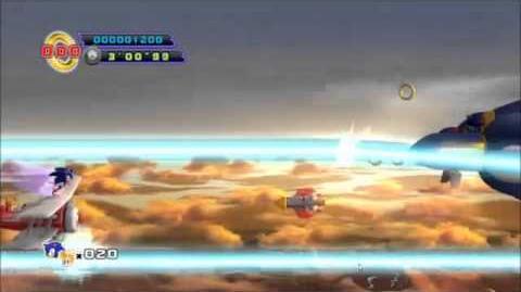 Sonic The Hedgehog 4 Episode 2 - Sky Fortress Boss Battle