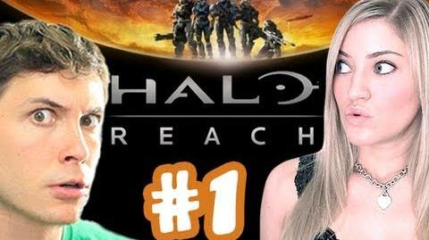 Toby Sucks at Halo Reach ONLINE - Part 1 (feat. iJustine)