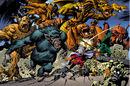 Taneleer Tivan, Harvey Elder, Tragg,Grottu,Rommbu,Grogg,Fin Fang Foom, Groot (Original) and Moloids (Earth-616) from Marvel Monsters Monsters on the Prowl Vol 1 1 0001.jpg