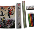 EL612 Dino Attack Pencil Set