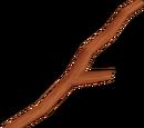 Bâton de bois