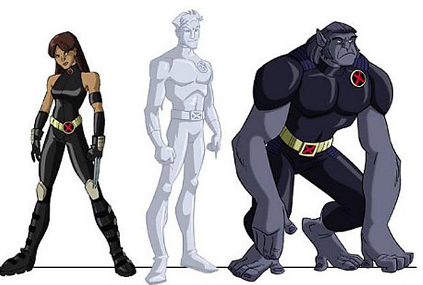 X Men Evolution Future Spike Registros da 2ª d...