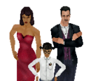 Families from The Sims 3 (Nintendo DS)