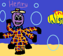 My Drawing of Greg & Henry at Henry's Place