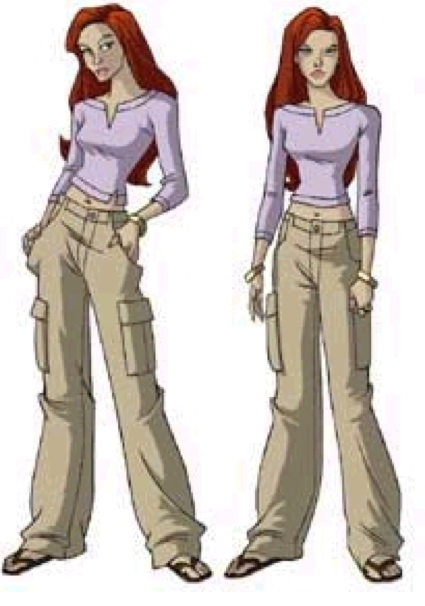 Jean Grey's outfits th...