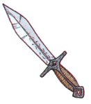 Mythril Knife FFIII Art