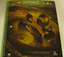 Ninjago Cole ZX Spiral Notebook