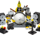 850486 Rock Band Minifigure Accessory Set