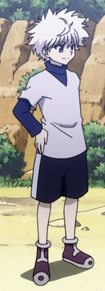 Killua Normal Outtfit