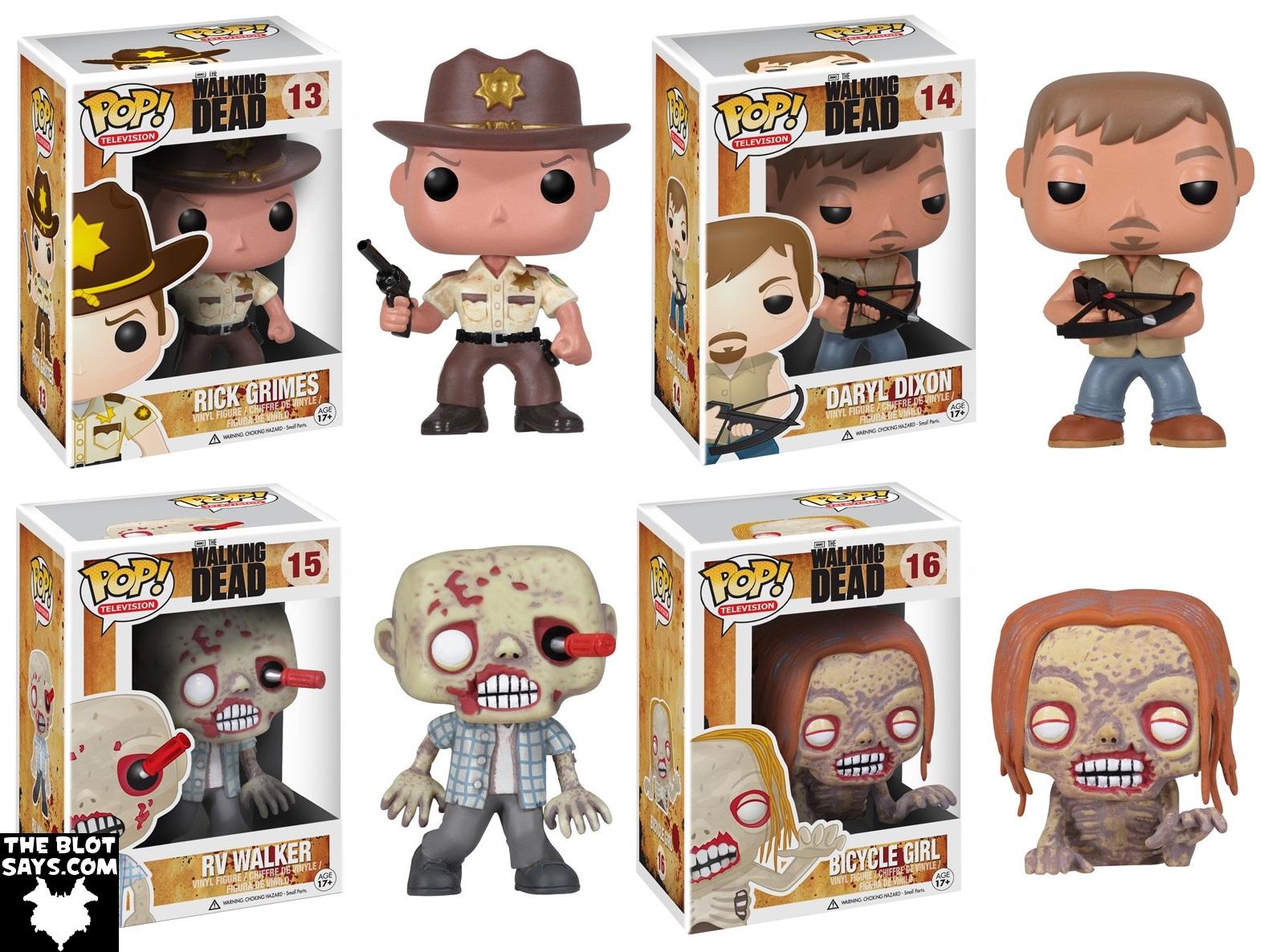 The Walking Dead Pop Figuras De Vinilo The Walking