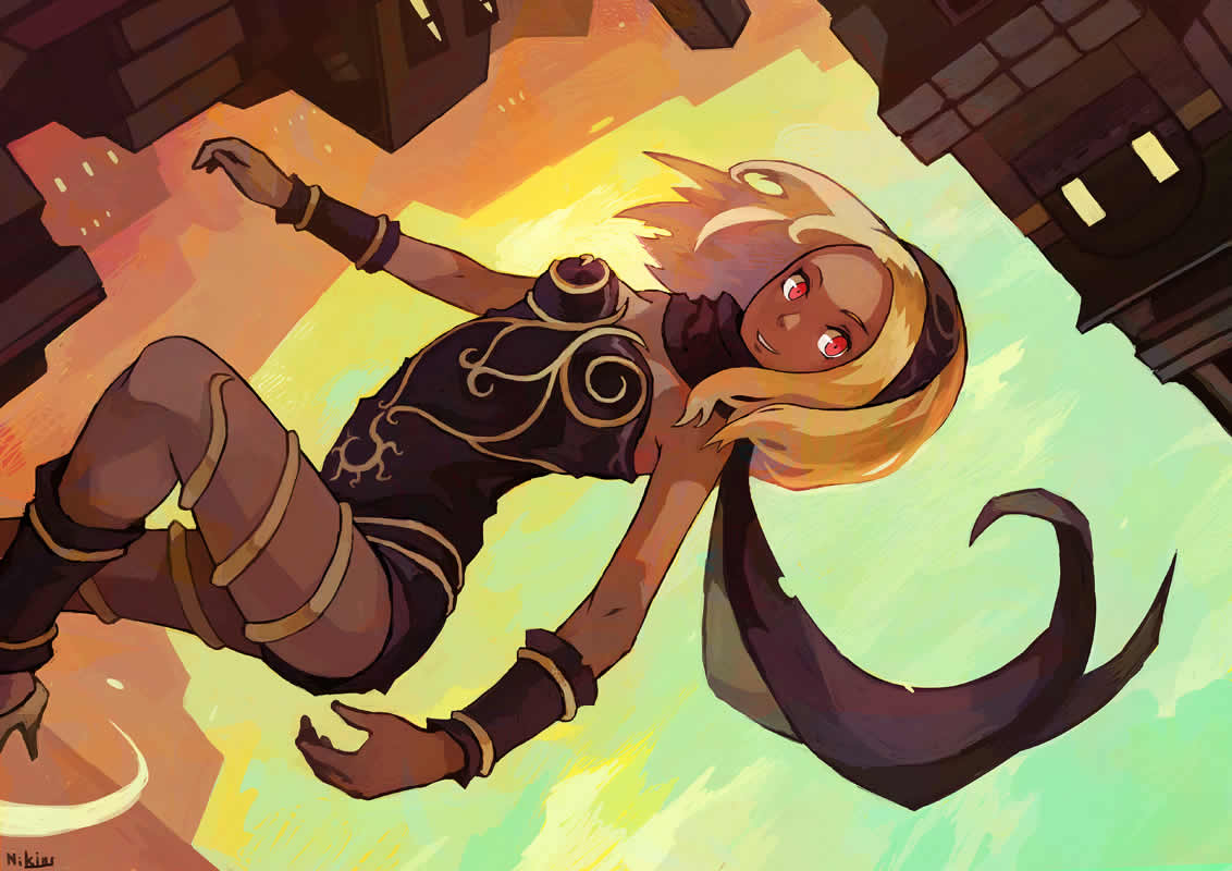 Displaying 20 gt images for gravity rush fan art