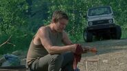 Daryl with arrows