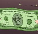 Negative Twelve Dollar Bill