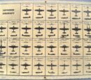 Japanese Aircraft Identification Codes