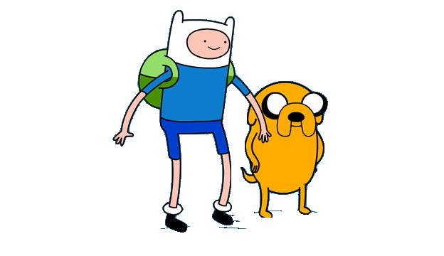 Adventure Time Dog Walking