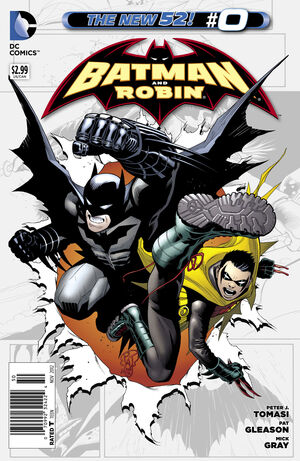 Cover for Batman and Robin #0 (2012)