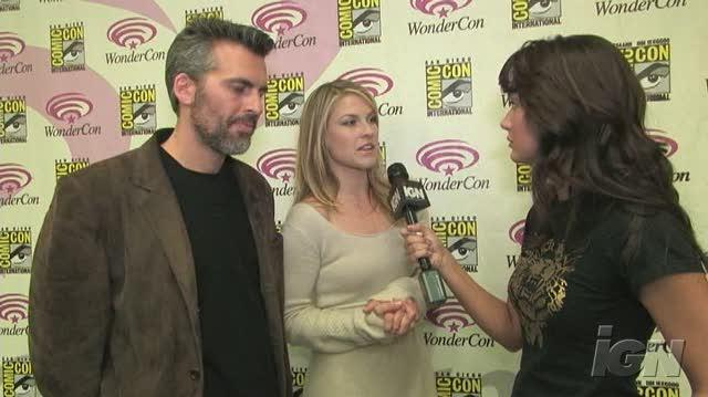 Resident Evil Extinction Movie Interview - Oded Fehr & Ali Larter At WonderCon 07