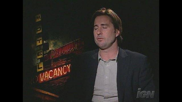 Vacancy Movie Interview - Luke Wilson