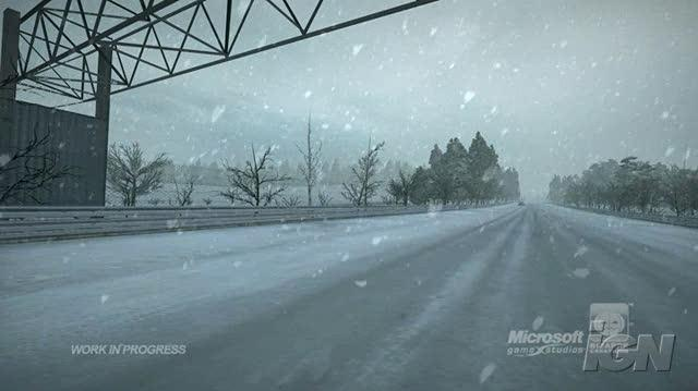Project Gotham Racing 4 Xbox 360 Trailer - Wintry Weather