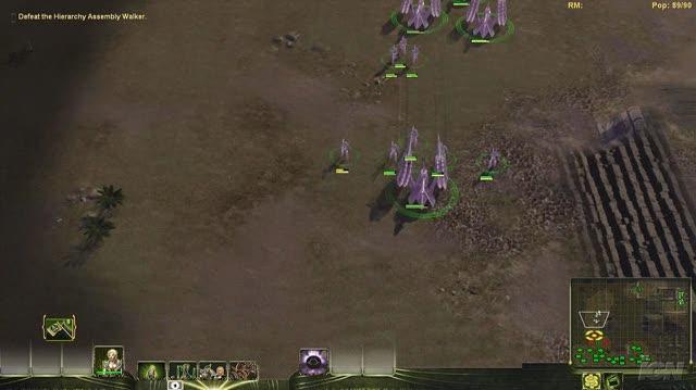 Universe at War Earth Assault PC Games Gameplay - Masari vs. Assembly Walker (HD)
