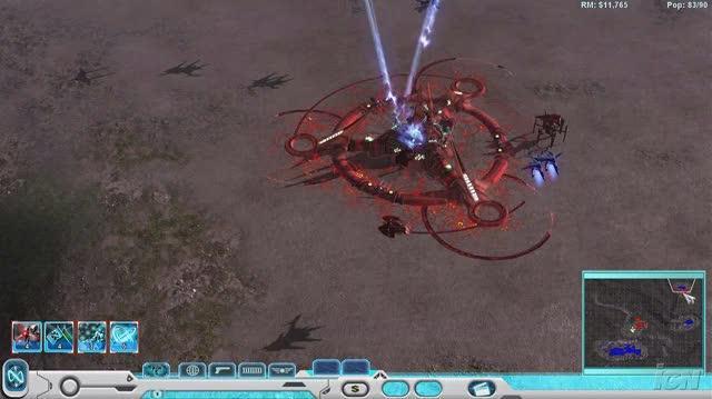 Universe at War Earth Assault PC Games Gameplay - Novus vs. Hierarchy (HD)