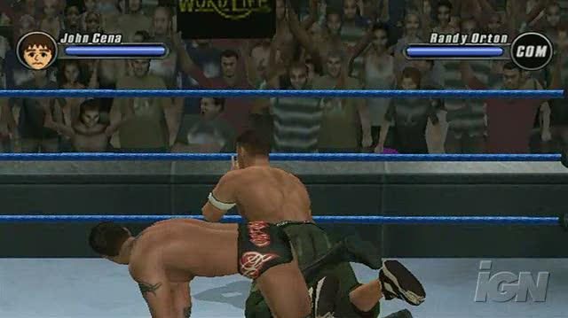 WWE SmackDown vs. Raw 2008 Nintendo Wii Gameplay - The Champ is Here