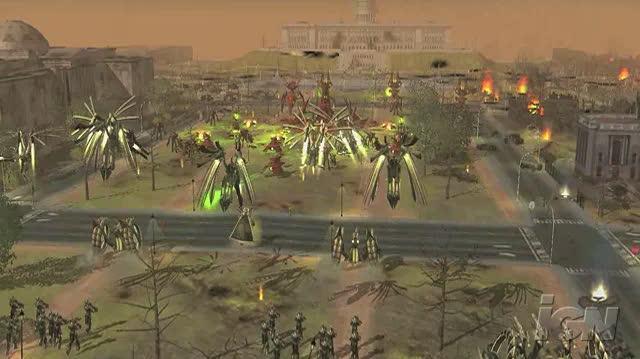 Universe at War Earth Assault PC Games Gameplay - Washington DC (HD)