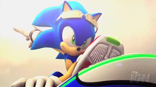 Sonic Riders Zero Gravity Nintendo Wii Trailer - Zero Gravity Controls Trailer