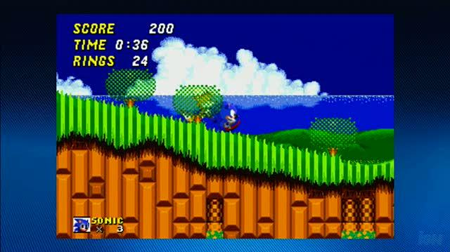 Sonic The Hedgehog Arcade Xbox Live Gameplay - Gameplay 2