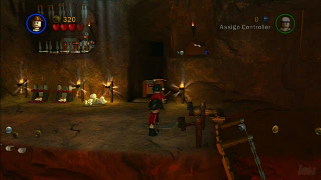 LEGO Indiana Jones The Original Adventures PlayStation 3 Gameplay - Temple of Doom