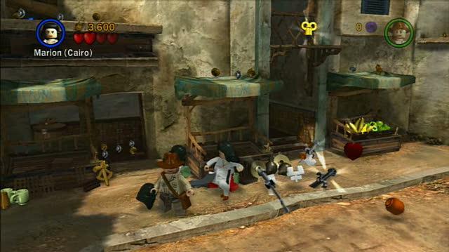LEGO Indiana Jones The Original Adventures PlayStation 3 Gameplay - Raiders