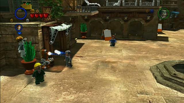 LEGO Indiana Jones The Original Adventures PlayStation 3 Gameplay - Last Crusade